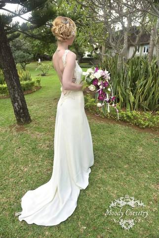 Moody Corsetry Real Bride - Niki
