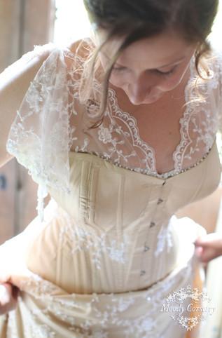 Moody Corsetry Real Bride - Beth