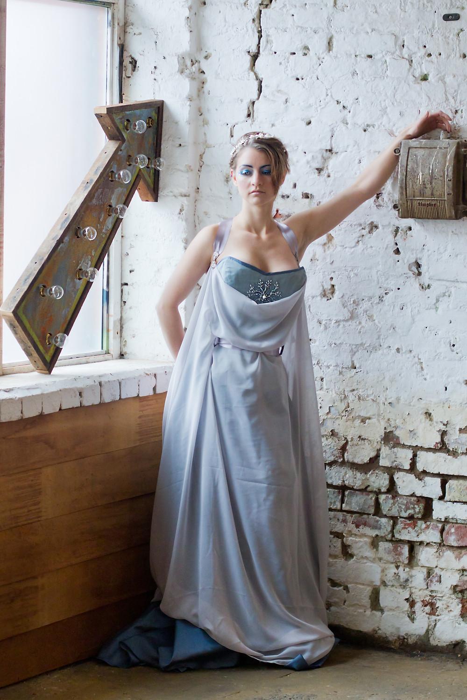 Frost Queen – Model: Lorraine Claridge-Whybrow, Makeup: Glitzy Flamingo, Photography: Simon Whybrow