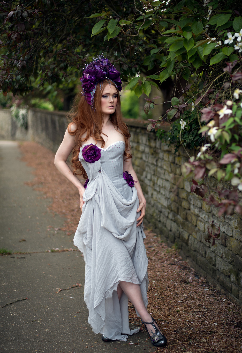 credit Photography: Photography By Liv Free, Model: Gingerface Model, Headdress: Creations by Liv Free