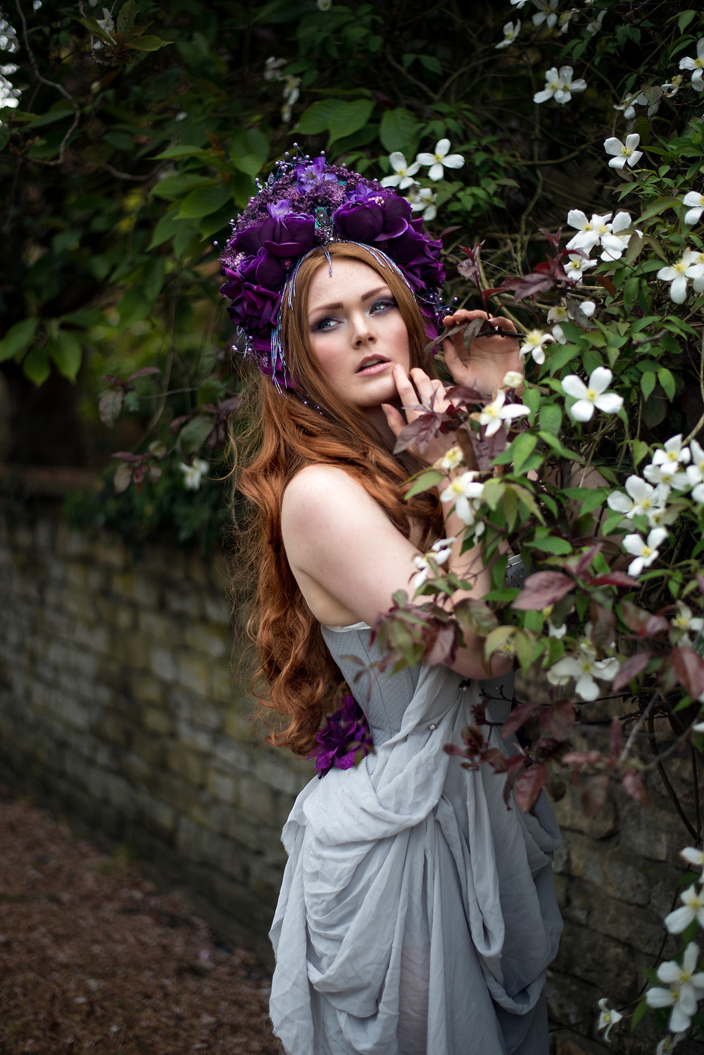 Photography: Photography By Liv Free, Model: Gingerface Model, Headdress: Creations by Liv Free