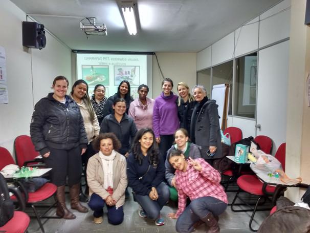 Curso de Capacitação para professoras e berçaristas no SIEEESP- Estimulação Psicomotora