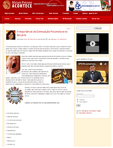 A importância da Estimulação Psicomotora no Berçário Escrito por Evelyn de Paula Pereira em mar 24, 2011 em Educação | 8 comentários