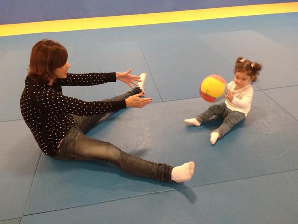 Divulgando a aula de Estimulação Psicomotora para Bebês na TV UOL