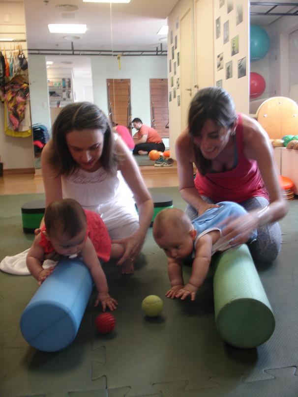 Estimulação Psicomotora em bebês