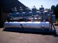R100 Horizontal Pipeline Coalescers
