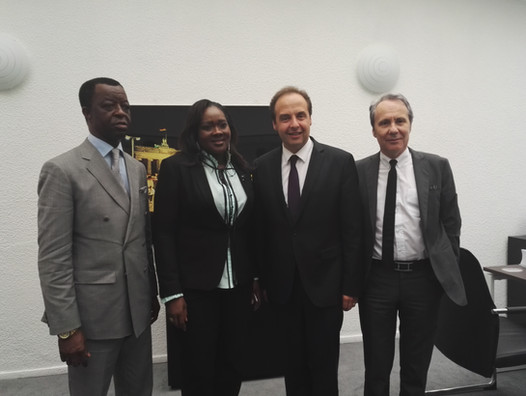 Dominique Paillé et Jean-Christophe Lagarde