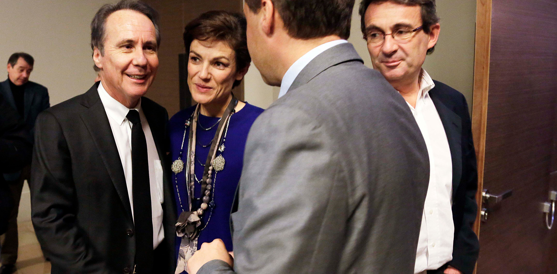 Dominique Paillé, Jean-Christophe Lagarde et Chantal Jouanno