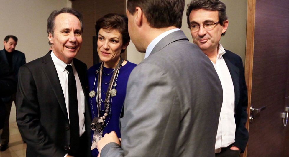 Dominique Paillé, Jean-Christophe Lagarde et Chantal Jouanno