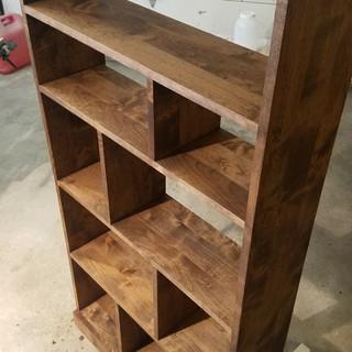 Shelf Door Stain On