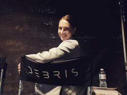 Behind the scenes on set for NBC's Debris