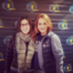 Chantel VanderWright and Céline Modschie