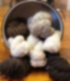 The softest yarn around! #alpacayarn #ti