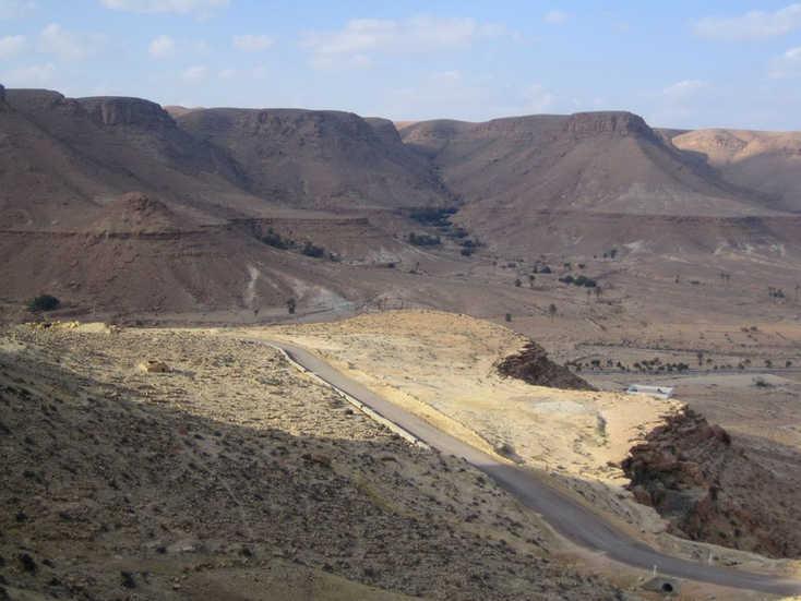 Rocky landscapes - southern Tunisia