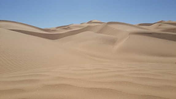 Dunes et désert