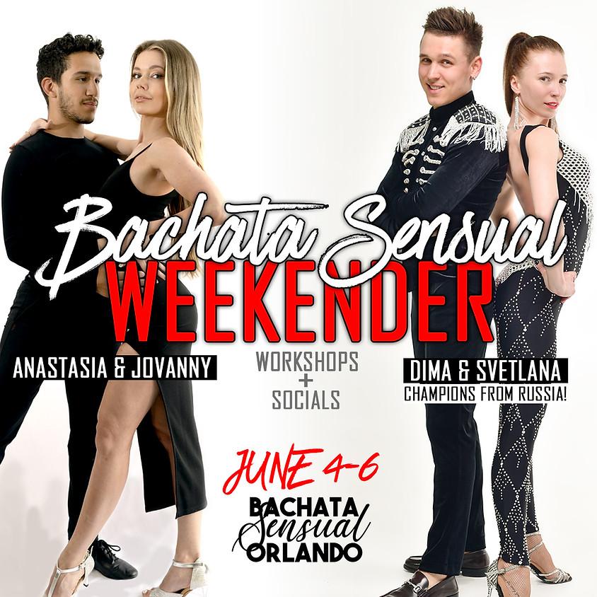 Bachata X Sensual Weekender with Dima & Svetlana