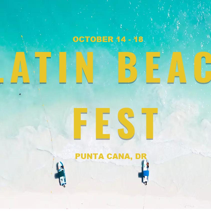 Latin Beach Fest Punta Cana - Code Sensualmovement
