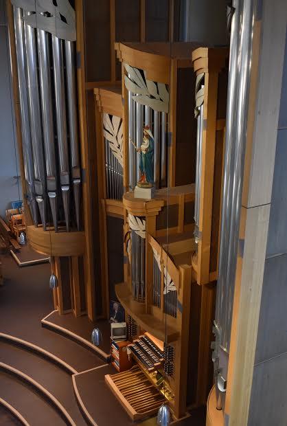 Orgel Marienkirche Basel