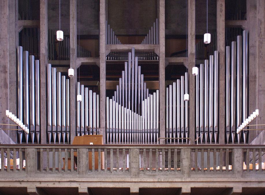 Orgel der Antoniuskirche Basel
