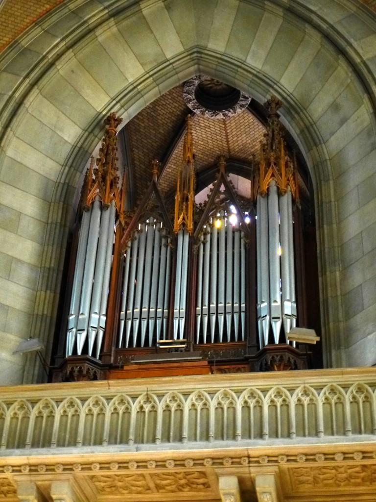 Orgel Elisabethenkirche Basel