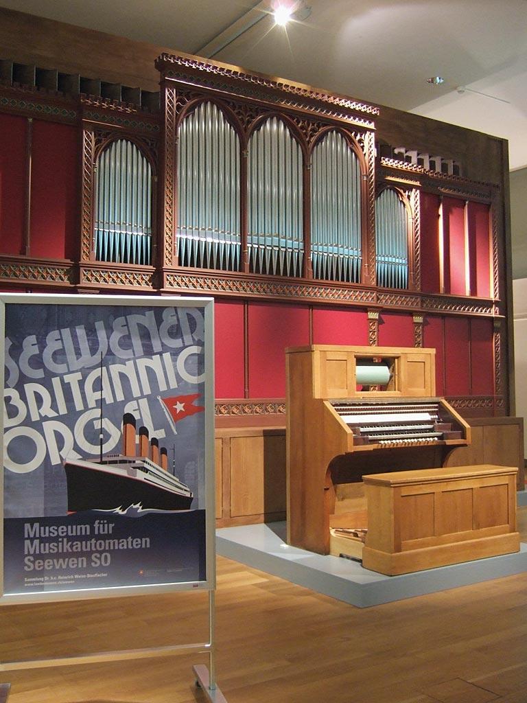 Britannic-Orgel, Seewen