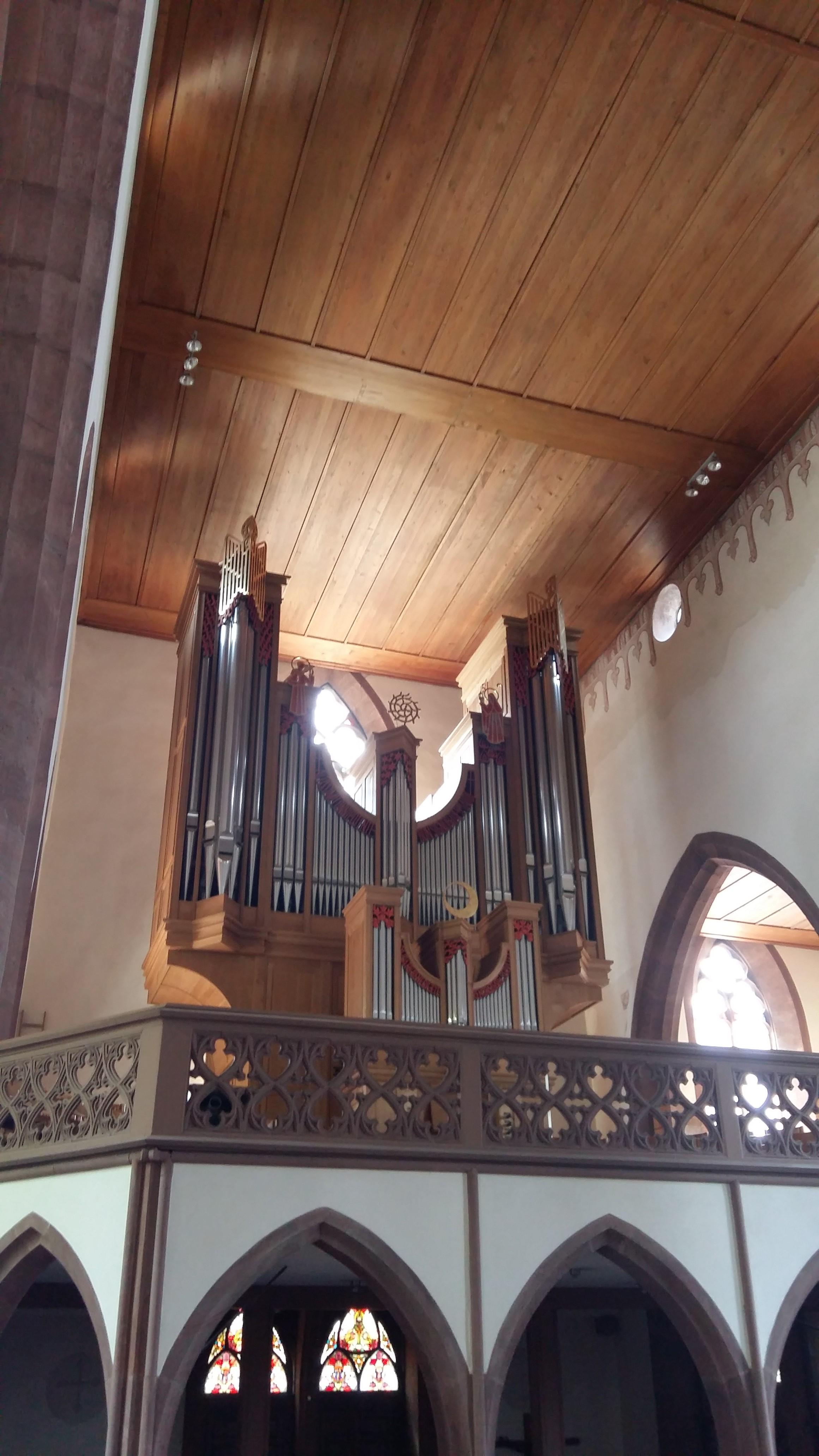 Orgel der Clarakirche Basel
