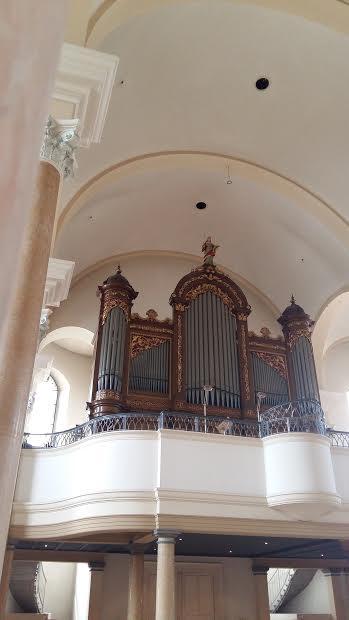 Orgel Josephskirche Basel