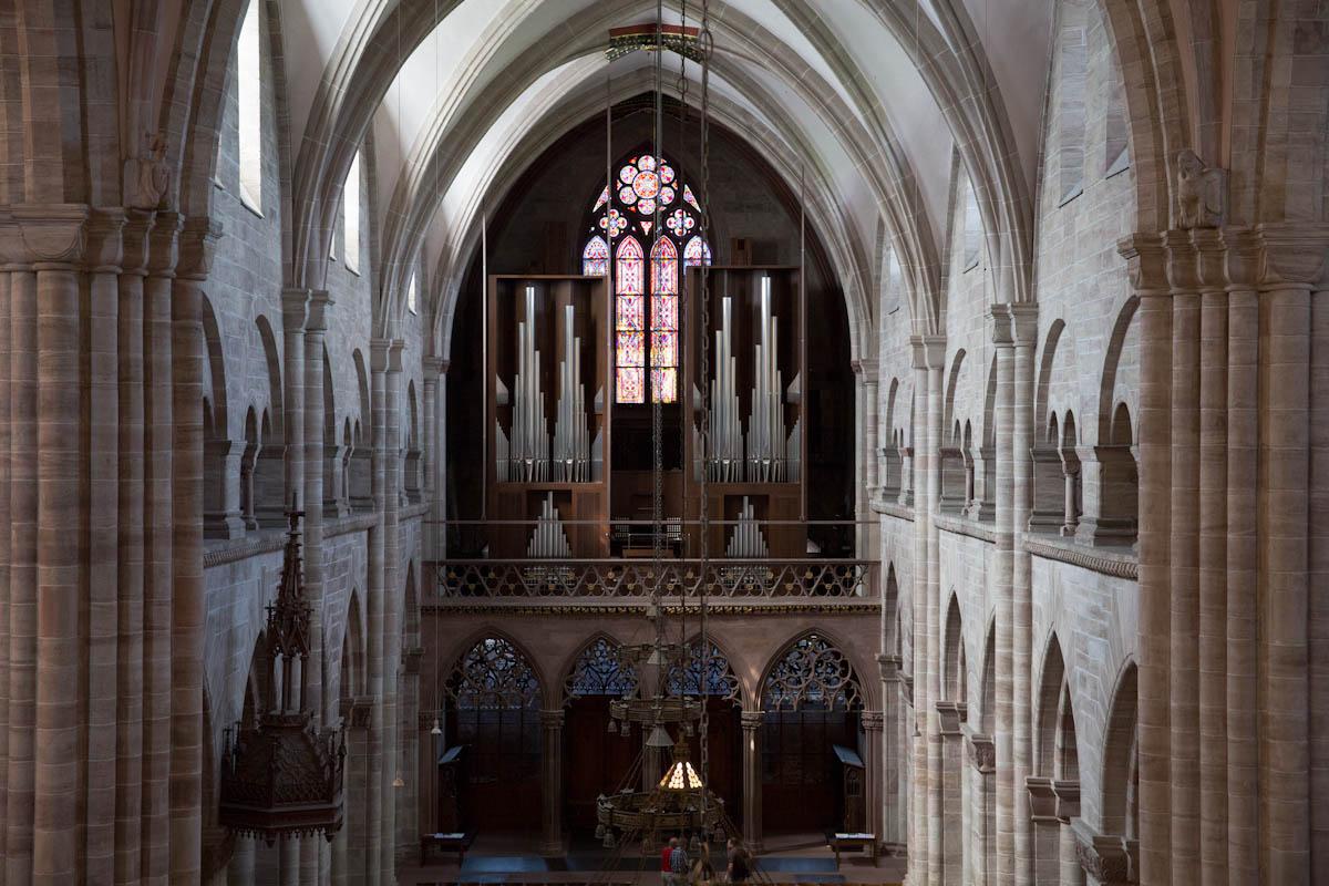 Orgel des Basler Münsters