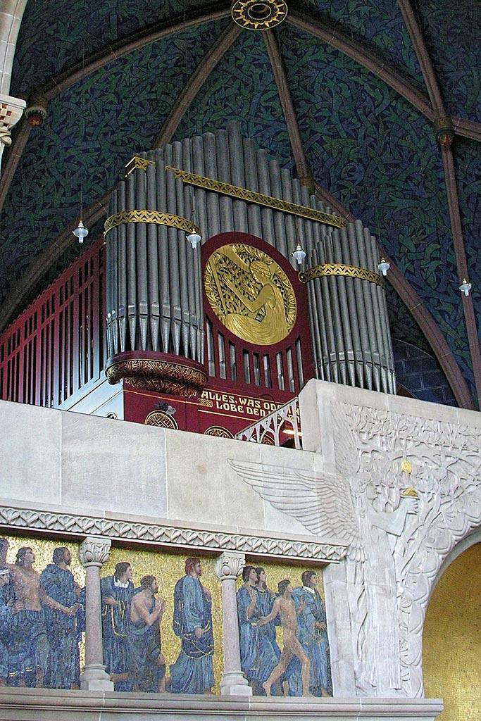 Orgel Pauluskirche Basel