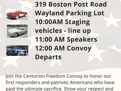 Join the Centurion Convoy this Saturday!
