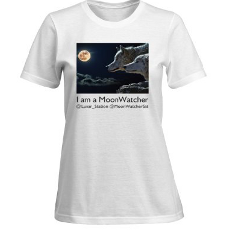 Women's I am a MoonWatcher short sleeve T-shirt