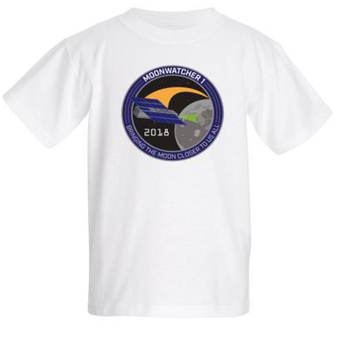 Kids T-shirt MoonWatcher1 Patch