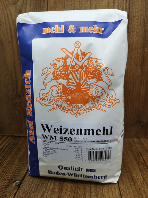Weizenmehl Typ 550