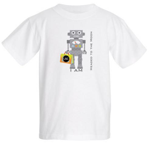 Kids T-shirt Headed to the Moon/Future Explorer