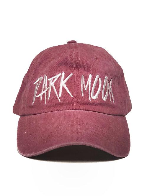 Burgundy Hat Punk Logo