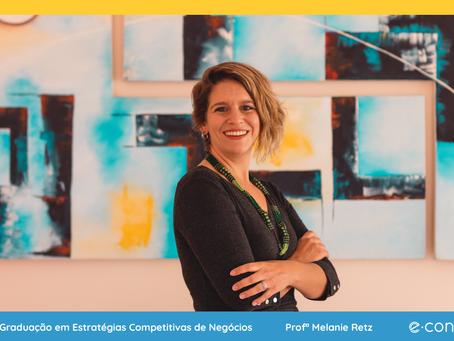 Profª Melanie Retz discorre sobre a Importância da Neurociência nos Negócios