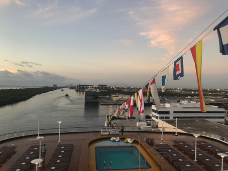 Day 26 on the Ms. Zaandam - Ft. Lauderdale