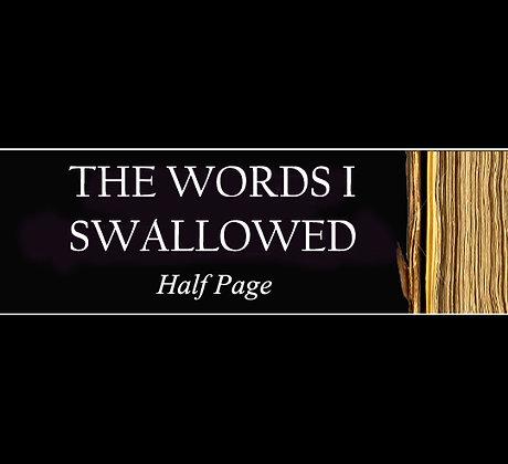 BOOK: Half Page