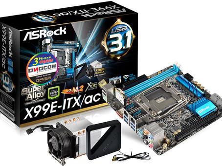 디앤디컴, 국내 최초 X99칩셋 탑재 ITX 메인보드 출시