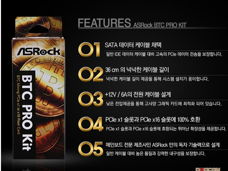 ASRock H81 Pro BTC 키트
