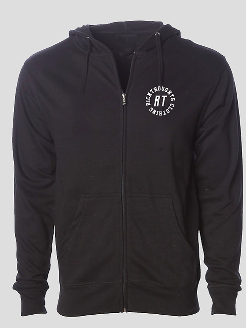 Rich Thoughts Zip Hoodie