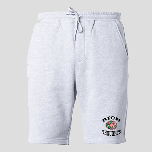 Grey Patch Shorts