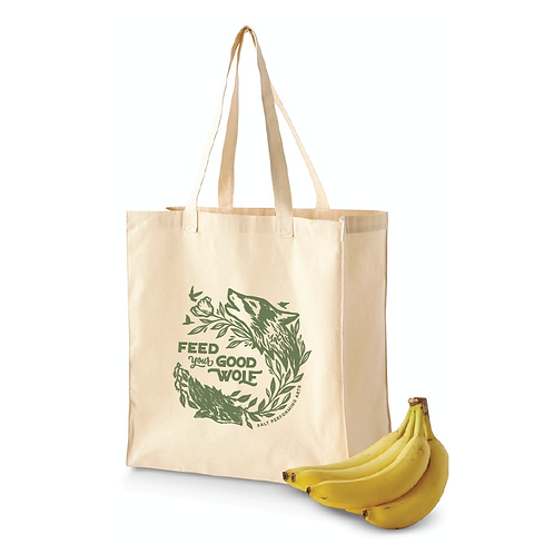 Feed Your Good Wolf Market Tote