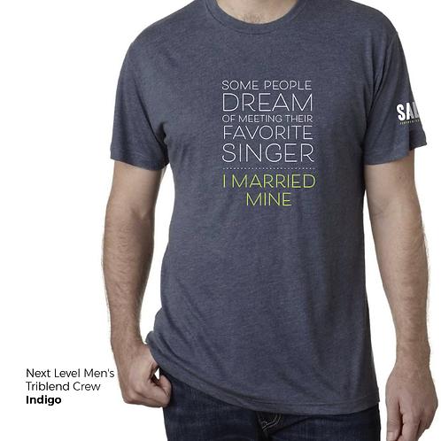 Favorite Singer: I Married Mine Men' Tee