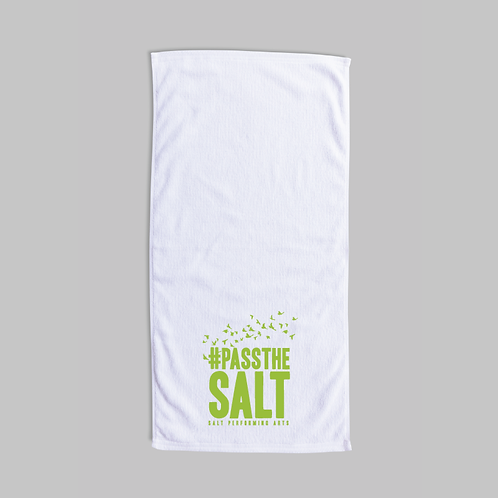 #PasstheSALT Terry Velour Beach Towel