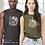 """Thumbnail: Unisex """"Feed Your Good Wolf"""" Jersey Muscle Tank"""