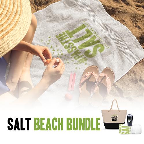 SALT Beach Bundle: Tote, Towel & Drink Cup