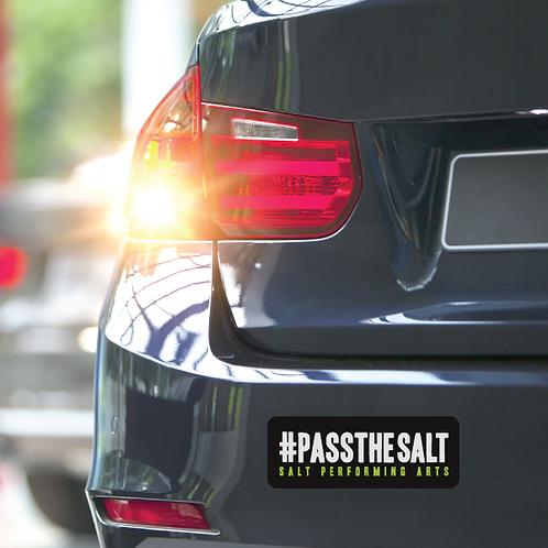 #PasstheSALT Bumper Magnet