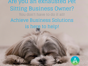 Exhausted Pet Sitting Business Owners - We're here to help