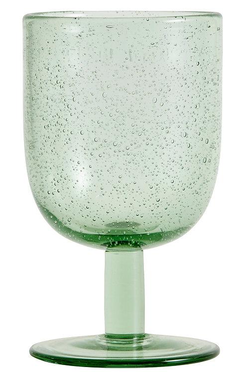 MAROC Green Wineglass